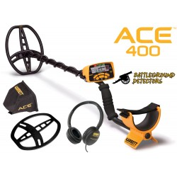 ACE 400 Metal Detector with 3 Free Included Accessories