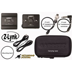 Z-Lynk Wireless Headphone System with AT Connector Cable